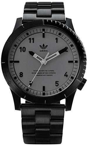 Adidas Herren Analog Quarz Uhr mit Edelstahl Armband Z03-017-00