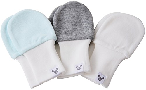 Crummy Bunny Baby Mittens - Fits Babies Ages 6 to 12 Months, Blue,...