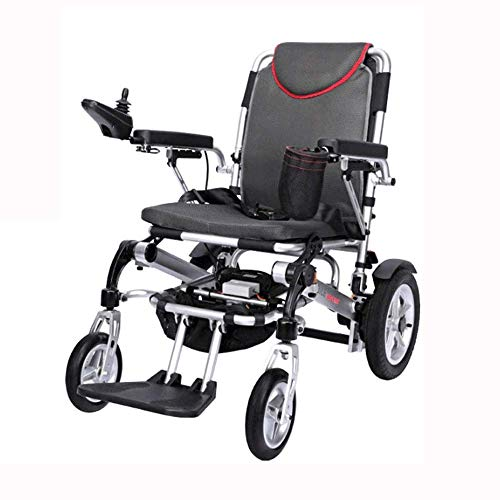Wheelchair,Electric Wheelchair Folding Lightweight Elderly Disabled Intelligent Automatic Full Lying Four Wheel Scooter Lithium Battery Wheelchair
