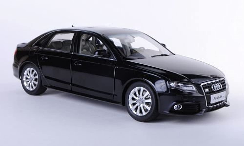 Audi A4L (B8), met.-schwarz, Asien-Version, 2011, Modellauto, Fertigmodell, Paudi 1 18