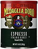 TLC Great Tasting (1) MEDAGLIA D'oro Italian Roast Espresso Ground Coffee, 10 Ounces