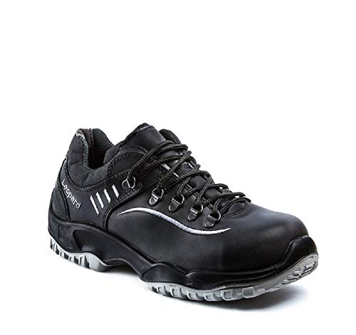 Leopard Sicherheits-Halbschuh Sicherheits-Schuh Arbeitsschuh - EN ISO 20345 S3 - Weite 12 - schwarz - Größe: 43