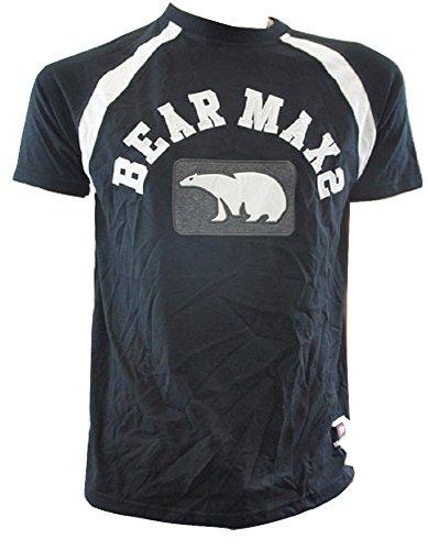 Bear USA - T-Shirt à manches longues - Manches courtes - Homme Noir Noir petit