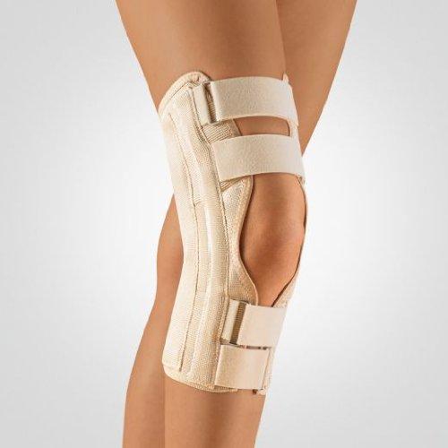 Bort Stabilo Kniebandage offene Form, Bandage mit Patellaaussparung / haut