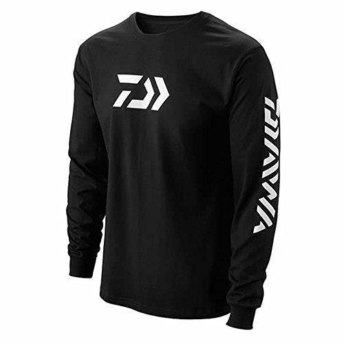 Daiwa 64052106 Vector Print Long Sleeve T-Shirt Black, 3X-Large