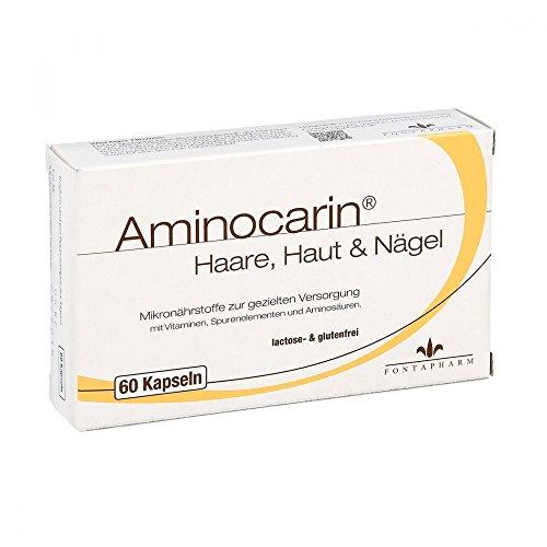 Aminocarin Haare Haut & Nägel, 60 St. Kapseln