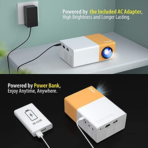 Mini Projector, PVO Portable Projector