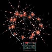 ジェフコム LEDミニストリングライト (電池式) 赤 STM-G01R