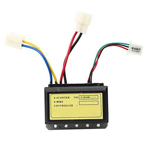 Okuyonic Controlador de Onda sinusoidal eléctrica sin escobillas 12V 250W Controlador de Cepillo Coche eléctrico Plegable Mejor protección para el Circuito Interno
