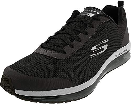 Skechers Herren Skech-AIR Element REYFORD Sneaker, Black, 42 EU