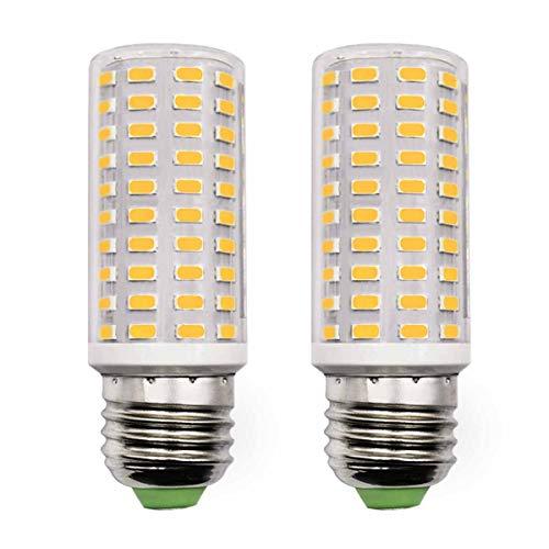 E27 LED Glühbirnen 10W Ersetzt 120W 100W Warmweiß 3000K 1400Lm Maislicht 100-265V Wandleuchte Wohnzimmer Edison Schraube Lampe 2er Pack [MEHRWEG]