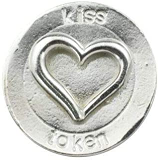 Anniversary Gifts Kiss Love Token for You - Gift for Wife, Girlfriend Or Husband - Love Wallet Token