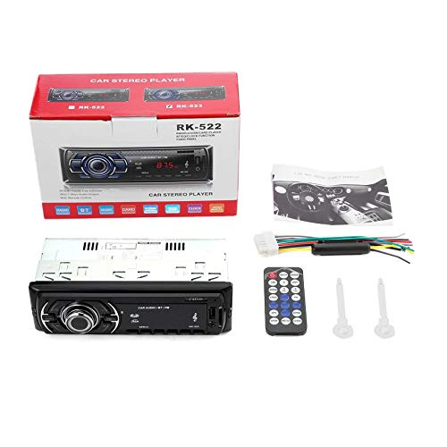 CATUO Bluetooth Car Audio Stereo-Receiver in der Schlag-FM MP3-Radio-Player schwarz CATUO Bluetooth Car Audio Stereo-Receiver Einzel DIN im Schlag-12V FM-Empfänger MP3-Radio-Player mit Fernbedienung 6