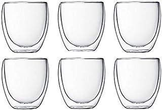 6pcs. Double Walled Glasses