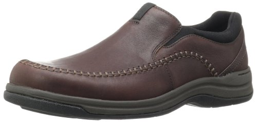 Clarks Men's Portland 2 Easy, Brown Leather, 9 M US