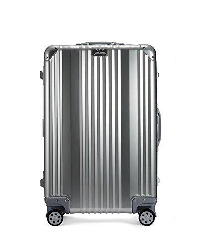 [レジェンドウォーカー] スーツケース アルミ 保証付 65L 63 cm 5.3kg シルバー