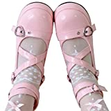 AOSPHIRAYLIAN Womens Gothic Lolita Shoes Ankle Tstrap Platform Mary Janes Dress Pumps Cosplay Shoes