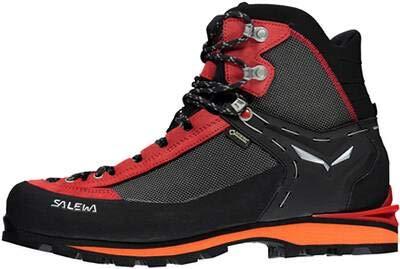 Salewa Crow GTX Mountaineering Boot - Men's Black/Papavero