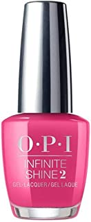 OPI Infinite Shine Nail Lacquer, ISLB35, Charged Up Cherry, 15 ml