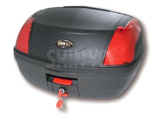 Topcase Case Koffer LIVORNO 45 l für Roller u. Motorrad schwarz