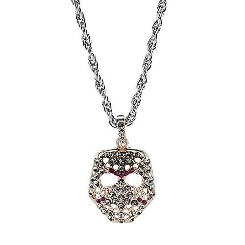 NSSQ Collar Controlador Hop Oro de Lujo Largo Color de la Cadena del Collar for Hombre Dólar Mujeres Maple Leaf Collares Pendientes de la Cadera joyería (Length : 50cm, Metal Color : 025 Gold)