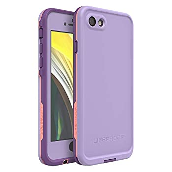 Lifeproof FRē Series Waterproof Case for Iphone 8 & 7 - Retail Packaging - Chakra  Rose/Fusion Coral/Royal Lilac