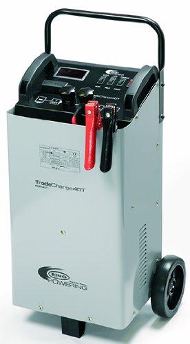 Ring rcbt40t - Cargador/Arrancador de batería Profesional, 40 A, 12/24 V, sobre...