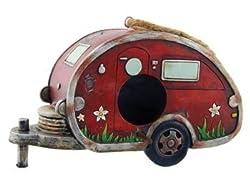 cute birdhouse designs - RV camper theme