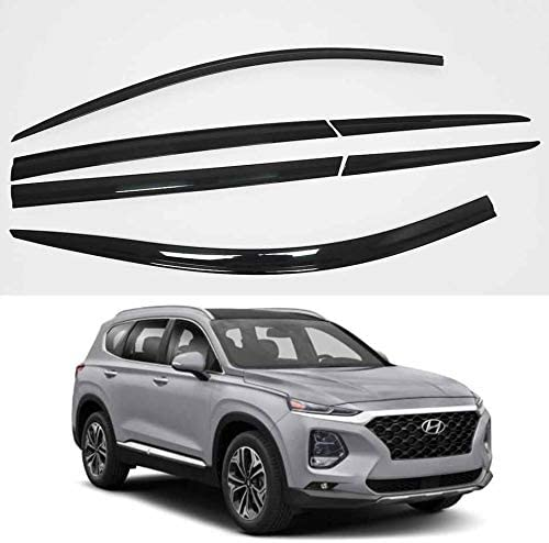 AUTOCLOVER Smoked Window Visor Side 2019 Deflectors Phoenix Direct stock discount Mall for Wind 6p