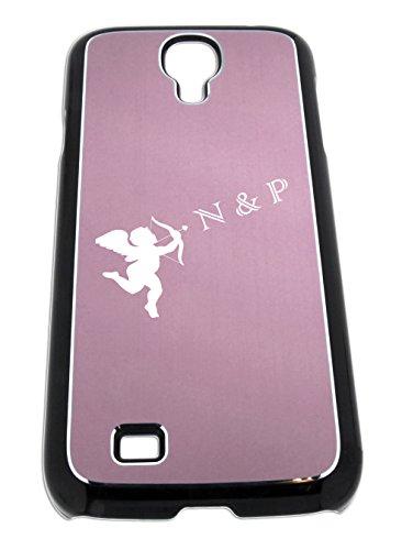 Telefono caso in alluminio per Samsung galassia S4 mini con incisione ideale come dono per compleanno, festa della mamma, come il carattere o per amicizia Liebesbeweis - di collegamento internazionale