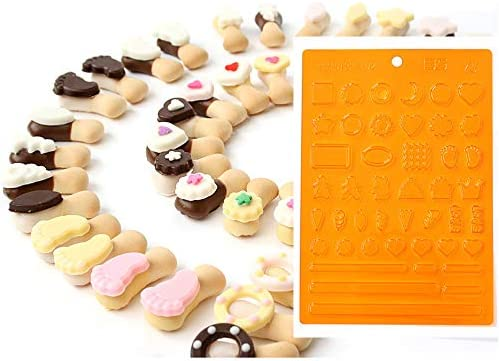 Mini Chocolate Mold Lollipop Cookies Decoration Making Tools Include Mini Flower Baby Footprint product image