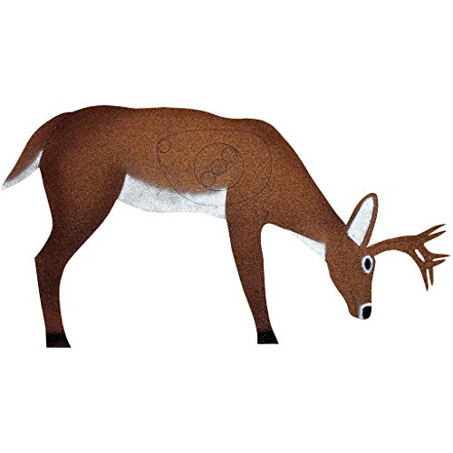 OnCore Targets Deer Target with Antlers Brown