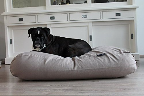 Dog's Companion® Hundebett Walnut Leinen Large