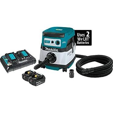 Makita XCV07PTX 18V x2 LXT 2.1 gallon Hepa Dust Extractor Kit