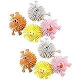 Tomaibaby 8 Piezas de Goma Animales Marionetas de Dedo Niños Pequeños Niños Calcetines de Relleno Juguetes para Niños Niñas Rellenos de Piñata Goodie Bag Relleno Juguetes Favores de Fiesta