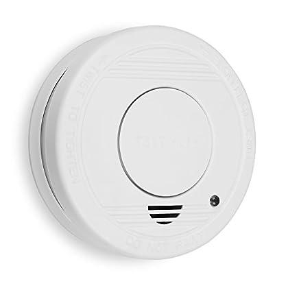 Para evitar accidentes de incendio en hogares y lugares de trabajo, es importante instalar detectores de humo