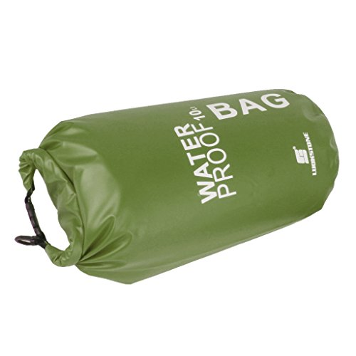 Colcolo Dry Bag Waterproof for Outdoor, Sports - Dry Bags, Pack Sacks, Duffel Bags - Green