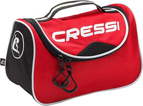 Cressi Kandy Bag Sac de Sport Compact/Polyvalent Adulte Unisexe, Rouge/Noir, Taille Unique