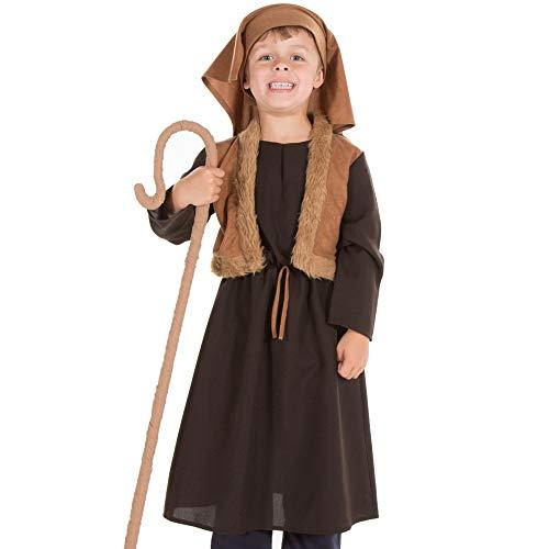 Pretend to Bee TR - Costume da pastore 9344, età 3/5, unisex, per bambini, marrone, 3-5 anni,...