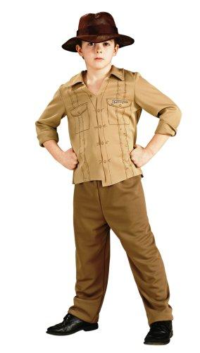 Rubies - Disfraz de Indiana Jones para nio (de 3/5 aos), talla S