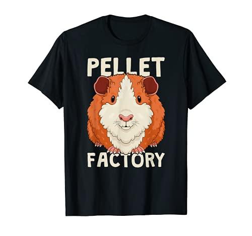 Divertida máquina de cacahuos de fábrica de pellets de conejillo de indias Camiseta