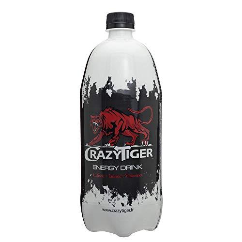 Crazy Tiger Boisson Energisante, 1L