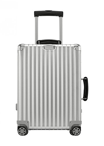 Rimowa Classic Flight IATA Carry on Luggage 21' Inch Cabin Multiwheel 33L TSA Suitcase Silver