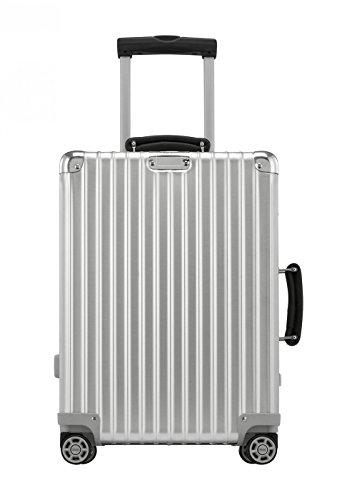 Rimowa Classic Flight IATA Carry on Luggage 21' Inch Cabin Multiwheel 33L TSA Suitcase Silver