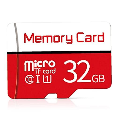 Yililay Tarjeta Micro SD SDXC Clase 10 de Alta Velocidad con Las Tarjetas de Memoria SD Card Gratuito Atapter 32GB económico práctico