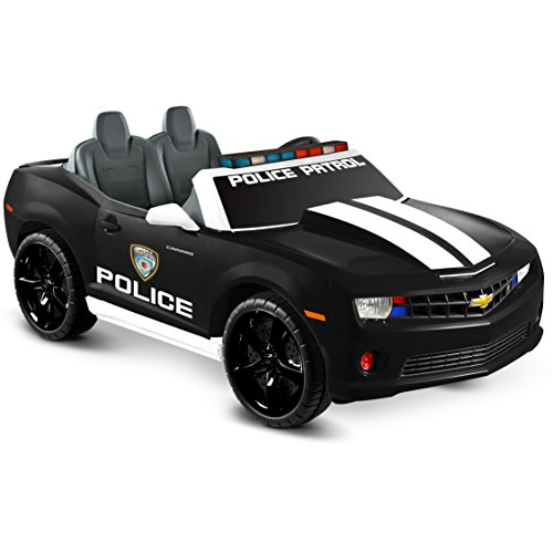 cute police Camaro ride-on car for kids