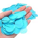 Ranvo Confeti de Fiesta, Exquisito Confeti Decorar(Azul)