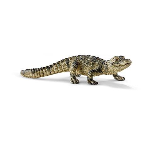 Schleich 14728 - Alligator Junges, Tier Spielfigur