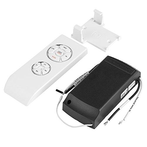 Ventilador de techo, universal 4 tiempos 3 velocidades de ajuste Lámpara colgante del ventilador del techo Kit de control de interruptor remoto inalámbrico