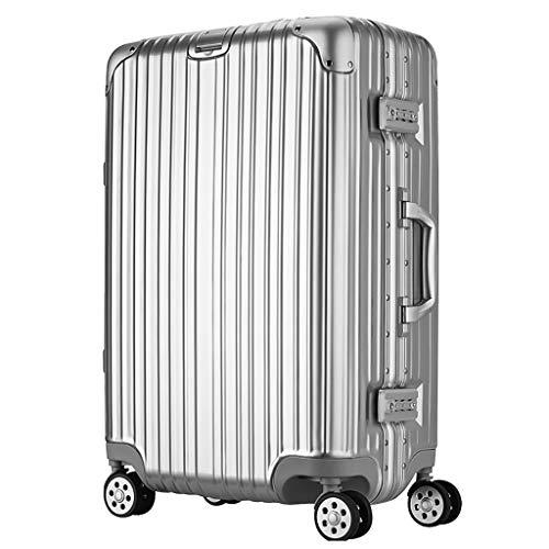 Rolling Laptop Case, Lichtgewicht Draagbagage | Kleine koffer, 4 wielen, ABS Hard Shell Reistas, met TSA Lock (20 inch, 34x27x54cm)